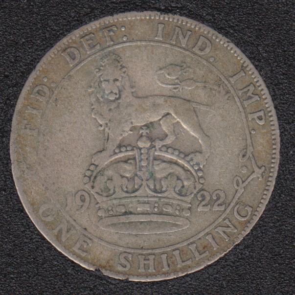 1922 - Shilling - Great Britain