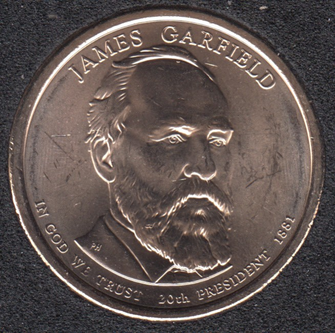 2011 D - J. Garfield - 1$