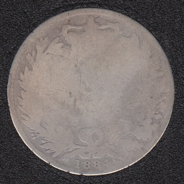 1884 - Shilling - Grande Bretagne