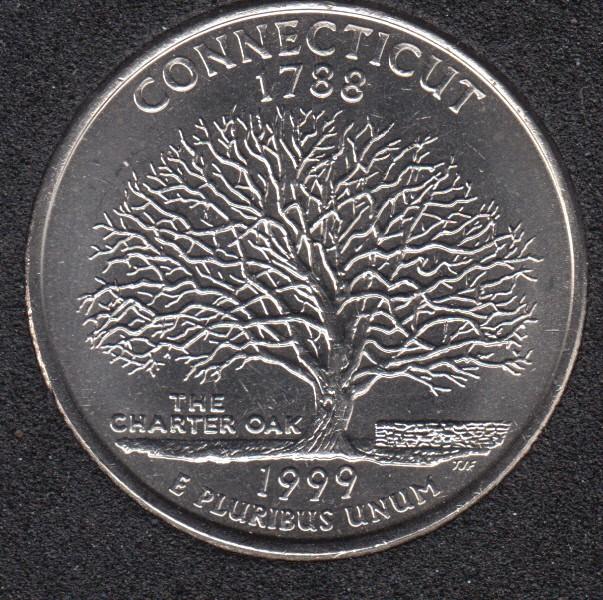 1999 D - Connecticut - 25 Cents