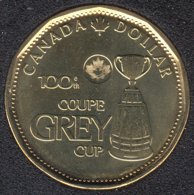 2012 - B.Unc - Coupe Grey - Canada Dollar