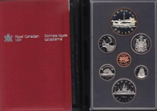 1984 CANADA DOUBLE DOLLAR PROOF SET