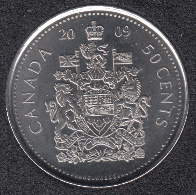 2009 - B.Unc - Canada 50 Cents