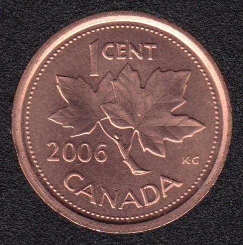 2006 - B.Unc - Non Mag. - Canada Cent