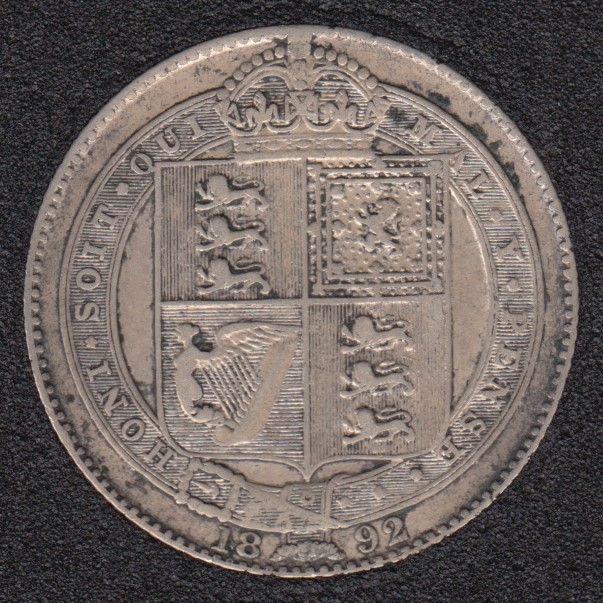 1892 - Shilling - Great Britain