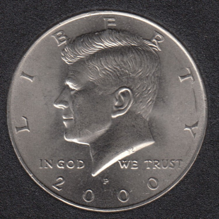 2000 P - Kennedy - 50 Cents