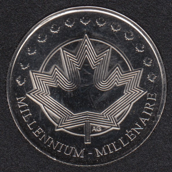 1999 - #913 NBU - Medaillon - Canada 25 Cents