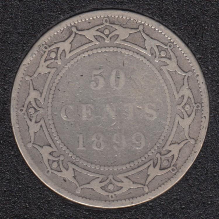 Newfoundland - 1899 - W '9' - 50 Cents