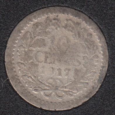 1917 - 10 Cents - Netherlands