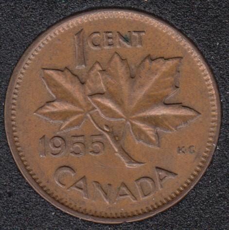 1955 - Canada Cent