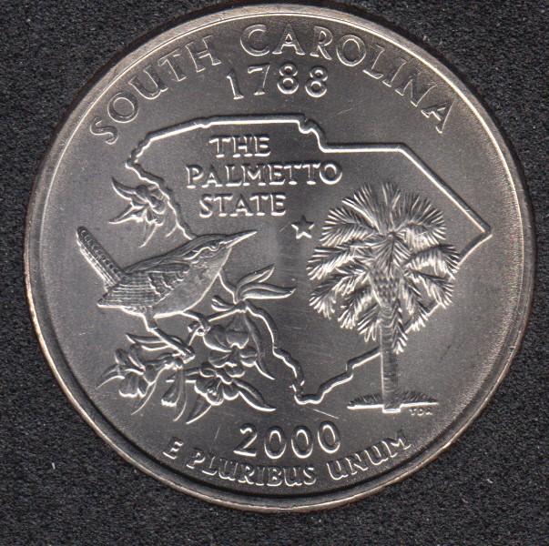 2000 D - South Carolina - 25 Cents