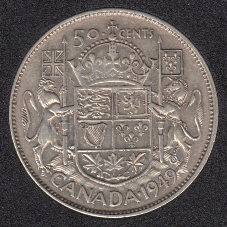 1949 - Canada 50 Cents
