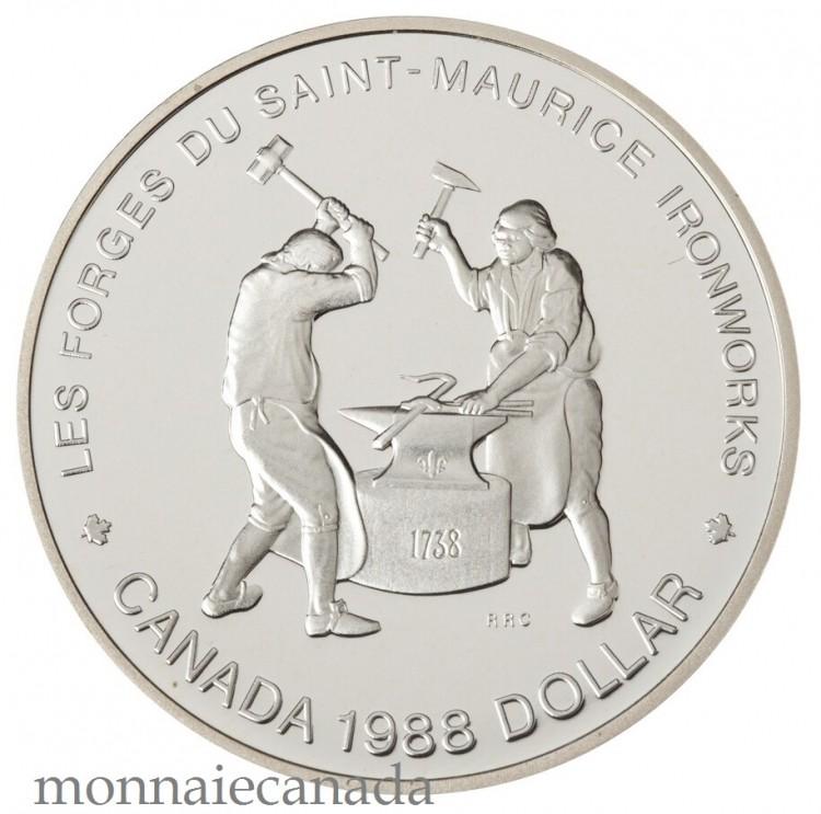 1988,SILVER DOLLAR PROOF
