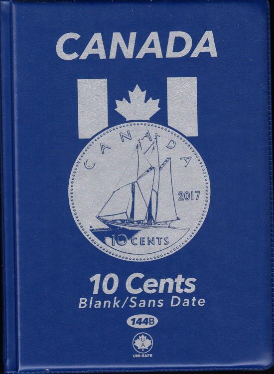 10¢ Canada Uni-Safe Album (Ten Cents) Blank