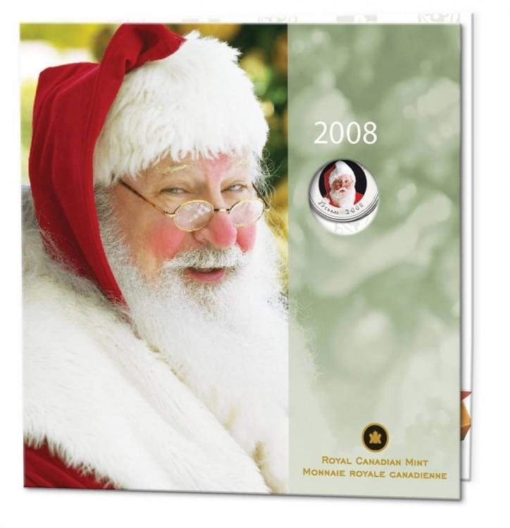 2008 - gift set Commemorative Santa Claus
