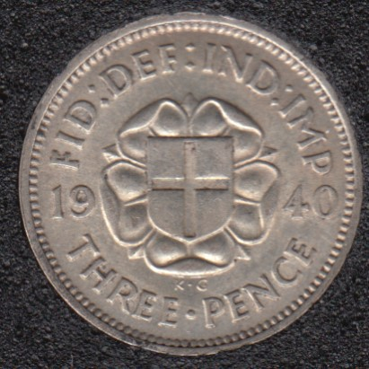 1940 - 3 Pence - Great Britain