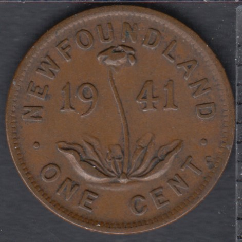 Newfoundland - 1941 C - 1 Cent