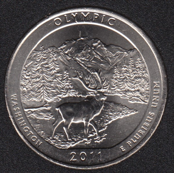 2011 P - Olympic - 25 Cents