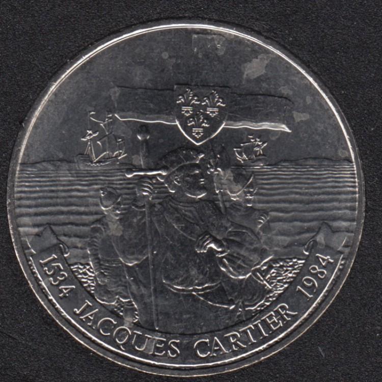 1984 - B.Unc - Jacques Cartier - Nickel - Canada Dollar