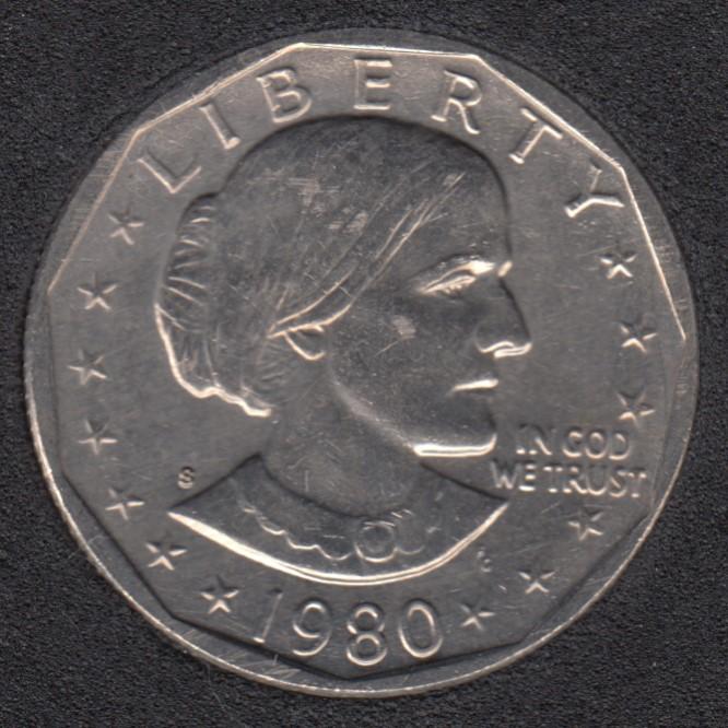 1980 S - Susan B. Anthony - Dollar