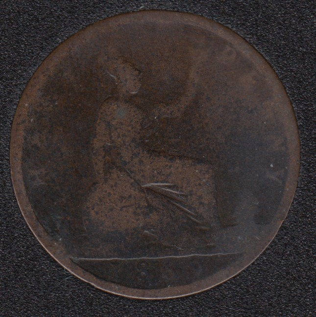 1869 - Half Penny - Great Britain