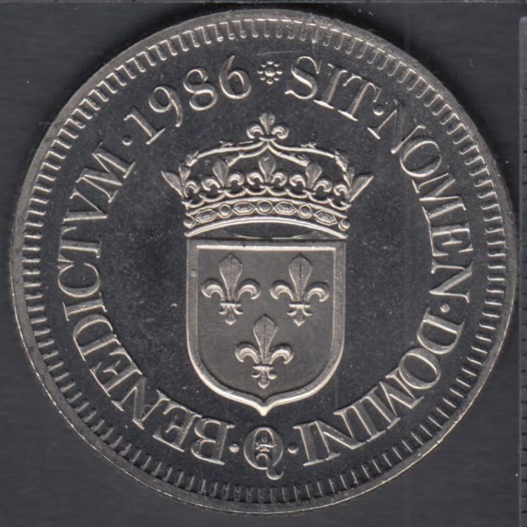 Quebec - Epicerie J.A. Moisan - 1986 - Valeur 30 Sous au Magasin