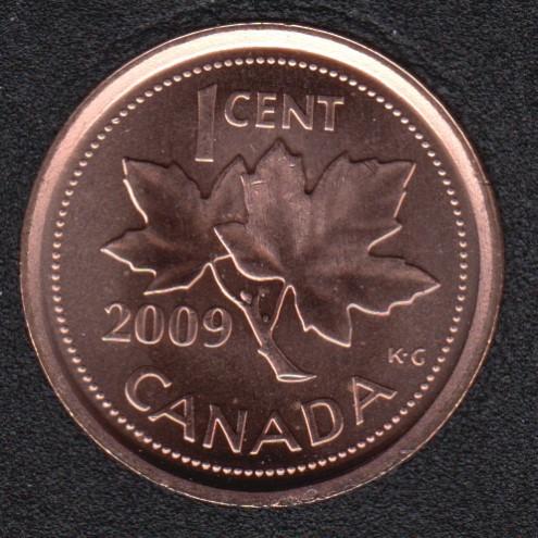 2009 - B.Unc - Non Mag. Canada Cent