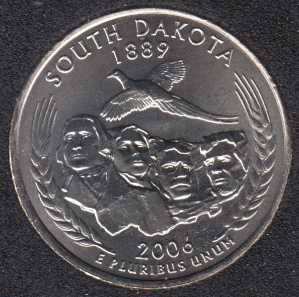 2006 P - South Dakota - 25 Cents