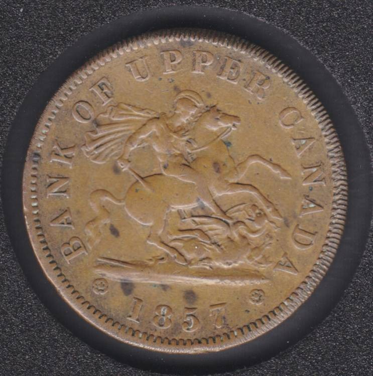 P.C. 1857 One Penny Bank Token - PC6D