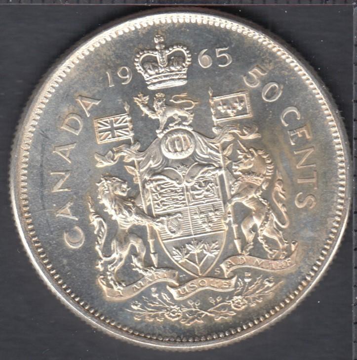 1965 - B.Unc - Canada 50 Cents