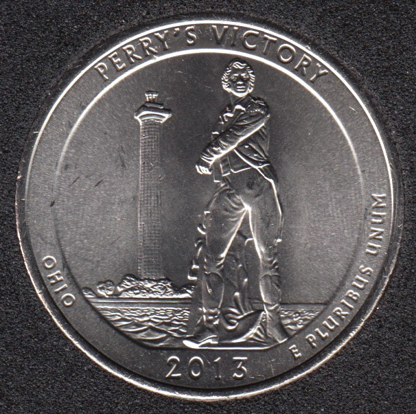 2013 D - Perry's Victory - 25 Cents