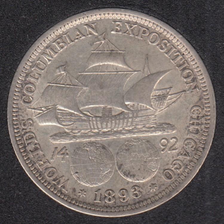 1893 - World's Columbian Exposition - Commemorative - 50 Cents