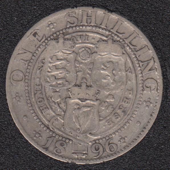 1896 - Shilling - Great Britain
