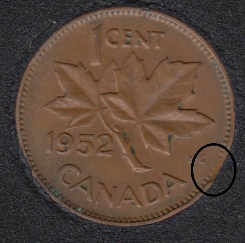 1952 - Clip - Canada Cent