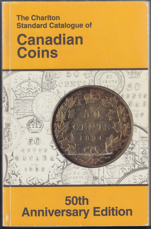 1996 - Charlton - Standard Catalogue of Canadian Coins - Usagé