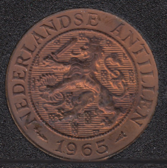 1965 - 2 1/2 Cent - Unc - Pays-Bas - Antilles