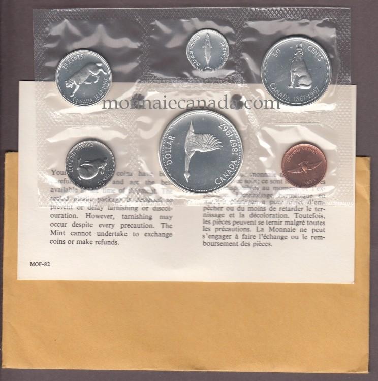 1967 - MRC - PROOF LIKE SET (ENSEMBLE HORS CIRCULATION)