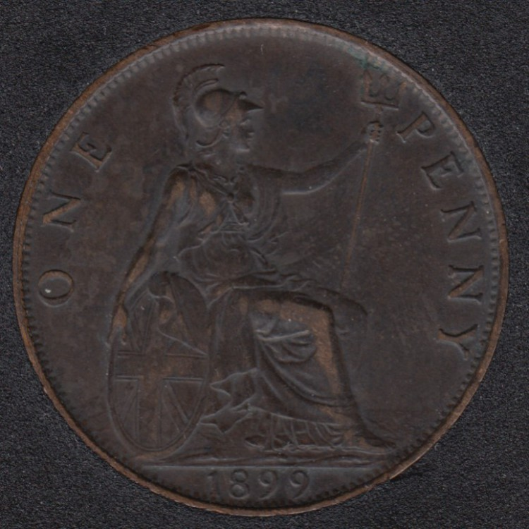 1899 - Penny - EF - Great Britain
