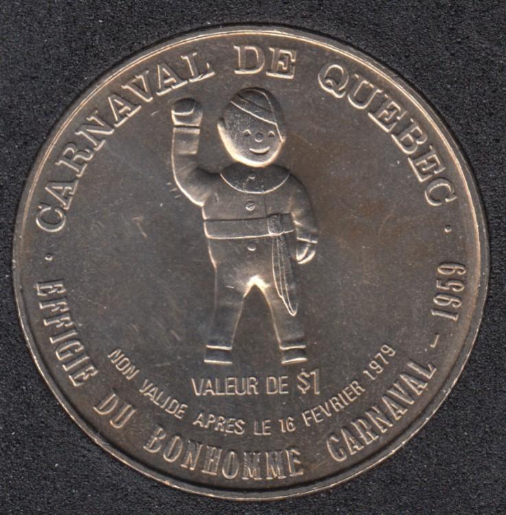 Quebec - 1979 Carnival of Quebec - 1959/Boat - Trade Dollar