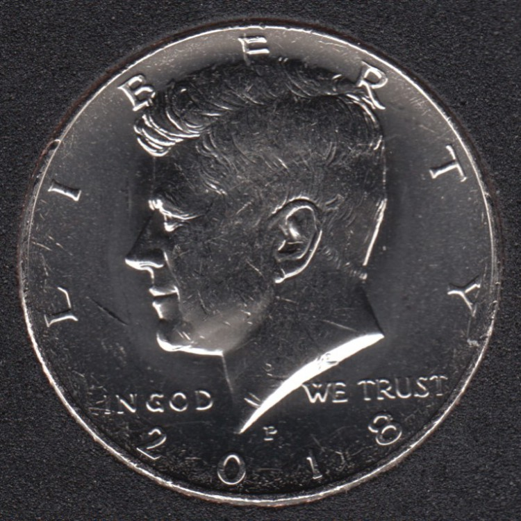 2018 P - Kennedy - 50 Cents