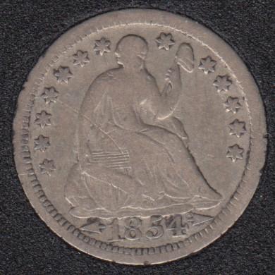 1854 - Liberty Seated - Half Dime