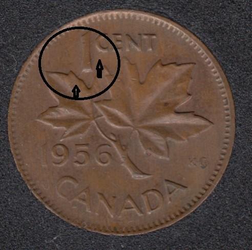 1956 - Break ML to 1 CE - Canada Cent