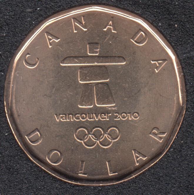 2010 - B.Unc - Huard Olympique - Canada Dollar