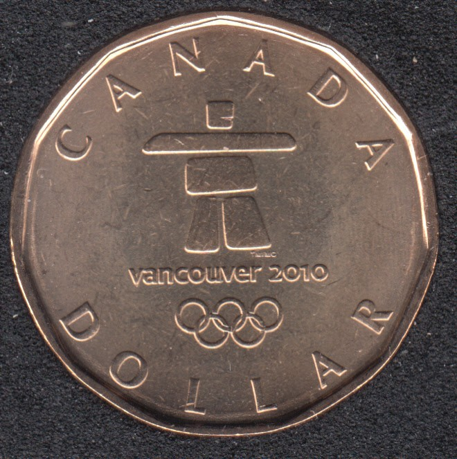 2010 - B.Unc - Olympic Loon - Canada Dollar