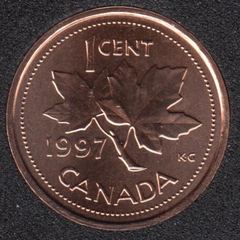 1997 - Specimen - Canada Cent