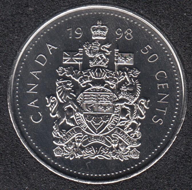 1998 - NBU - Canada 50 Cents