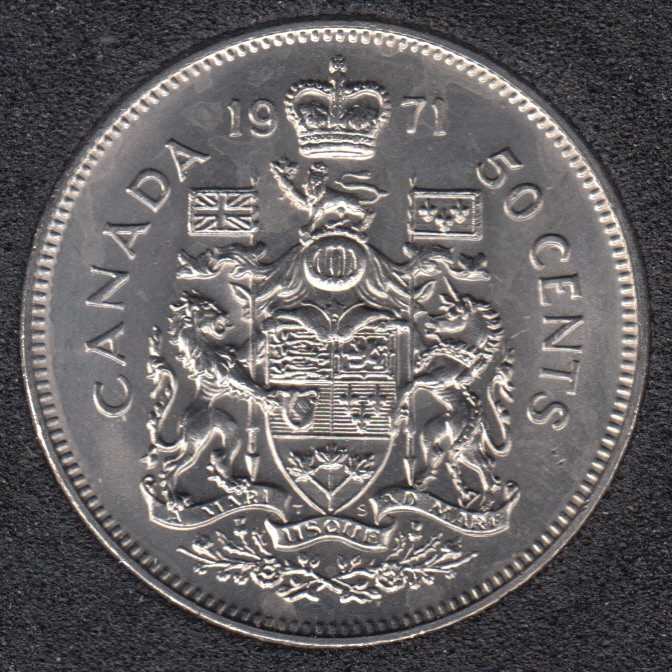 1971 - B.Unc - Canada 50 Cents