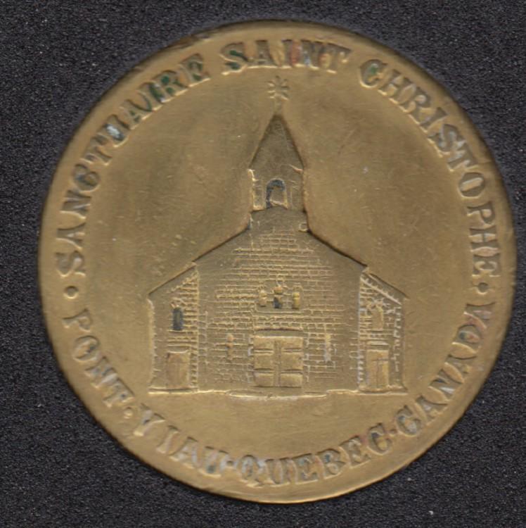 Saint Christophe - Protegez-Nous du Mal - Pont Viau Sanctuaire