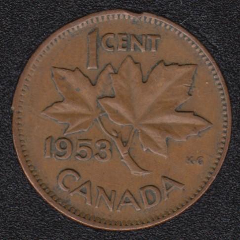 1953 - NSF - Canada Cent