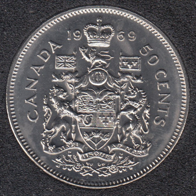 1969 - B.Unc - Canada 50 Cents